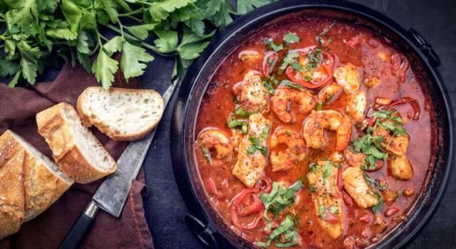 Bella, buona e profumata: è la zuppa di pesce, un trionfo di sapori!