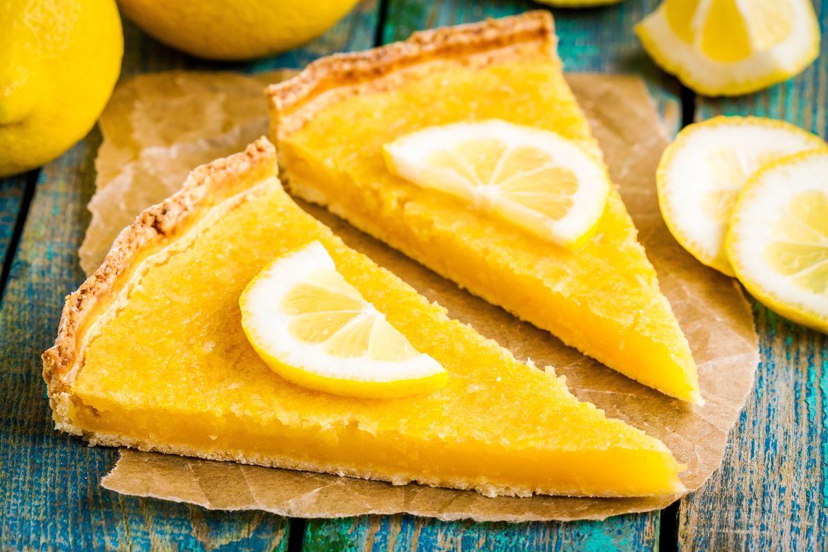 Crostata al limone lemon tart
