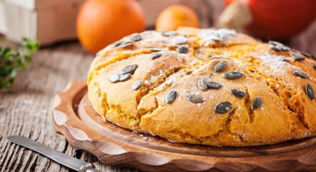 Il pane alla zucca (fatto in casa) non è mai stato così facile