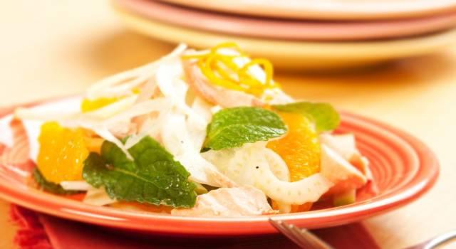 Filetti di sogliola ai finocchi e arancia: un piatto fresco e profumato