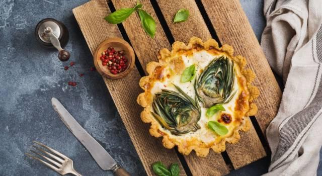 Mini quiche ai carciofi con uova e robiola: l'antipasto perfetto!