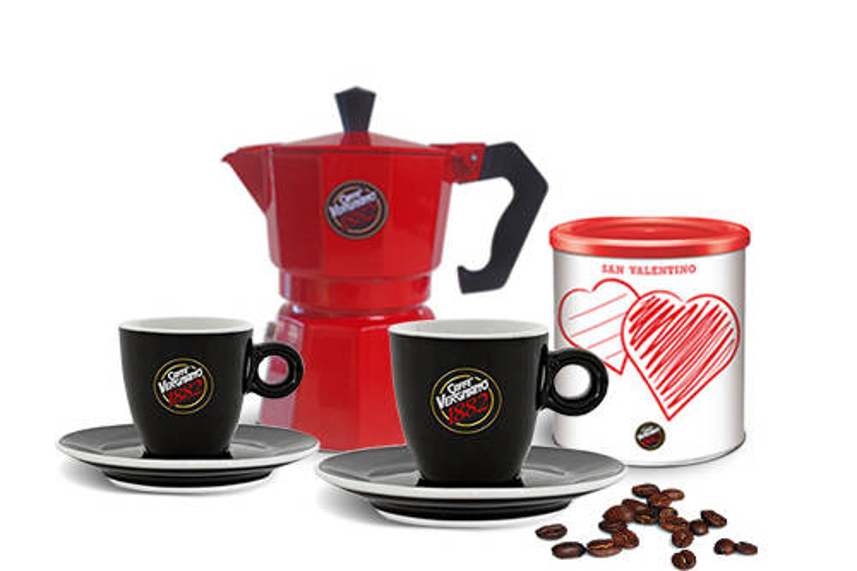 La collezione di caffè Vergnano per San Valentino