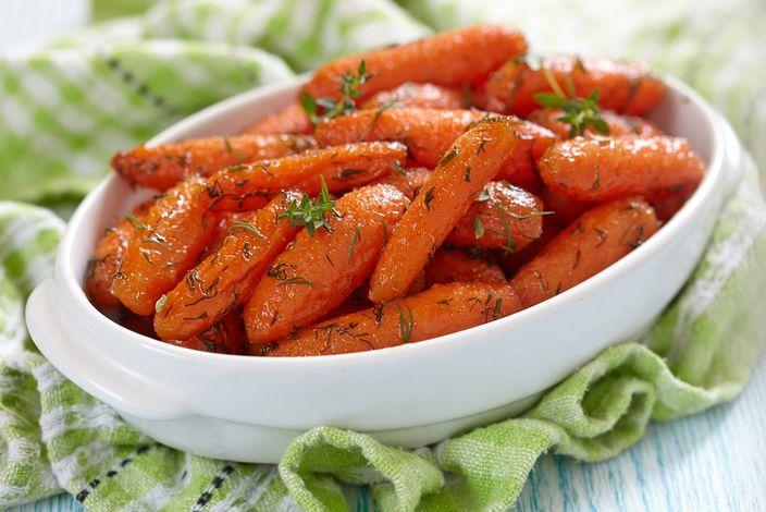 carotine agrodolci al forno