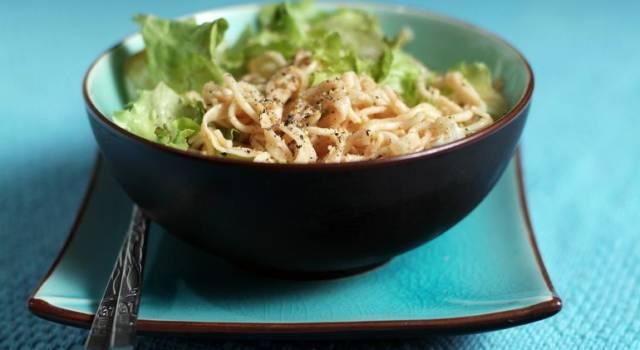 Ricetta salva spesa: Spaghetti al pesto di semi di zucca