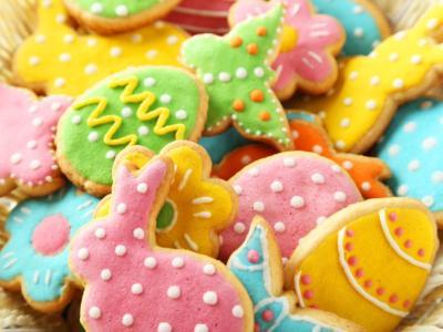 Biscotti di Pasqua decorati: buonissimi e semplici da fare con i più piccoli