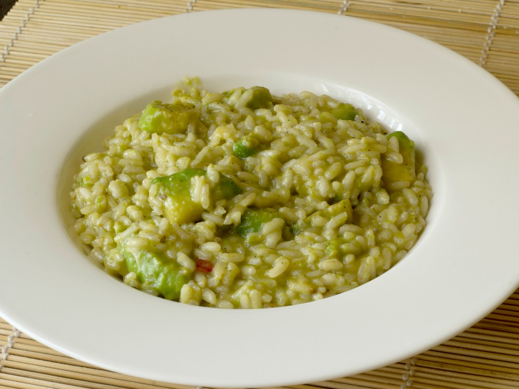 risotto-avocado