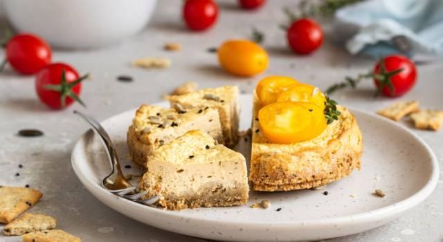 Come fare cheesecake salata al prosciutto