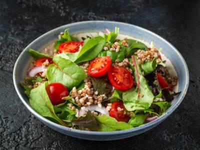 Ricetta salva spesa: Insalata gluten free di grano saraceno
