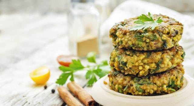 Crocchette di amaranto e broccoli al forno