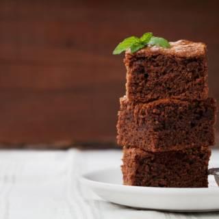 Brownies light all'acqua con cacao amaro