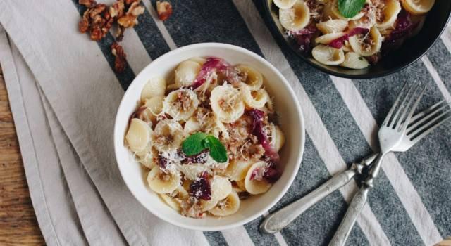Pasta al radicchio: un primo piatto da sogno!