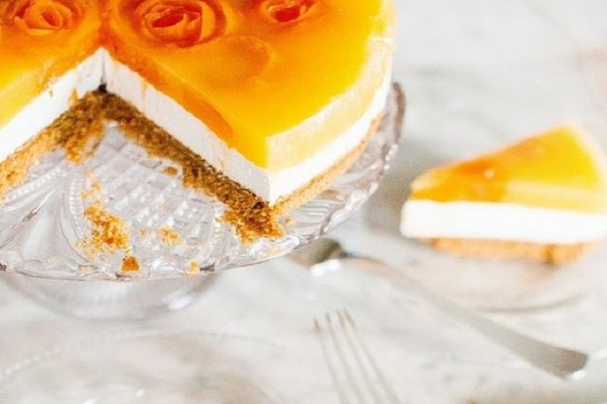 cheese cake alle albicocche