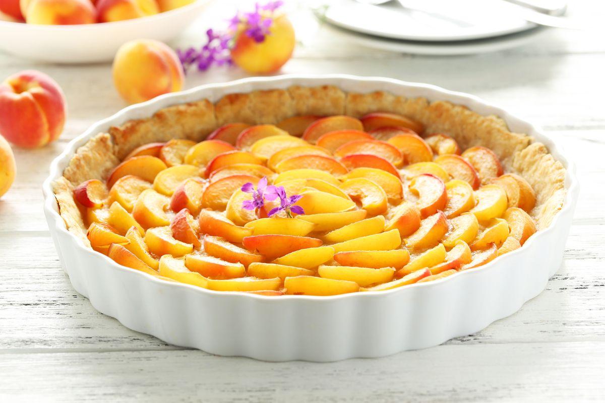 crostata di abicocche fresche