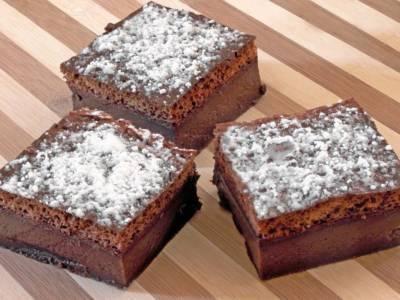 Torta magica al cioccolato: 3 stati di bontà incredibile