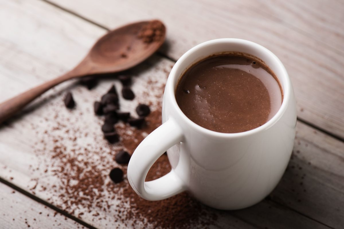 Cioccolata calda light