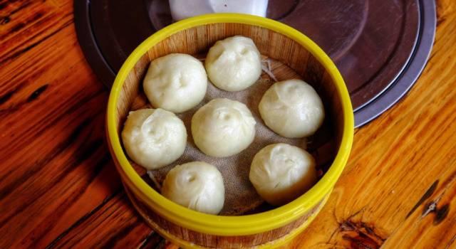 Facciamo un salto dall'altra parte del mondo con il pane cinese al vapore