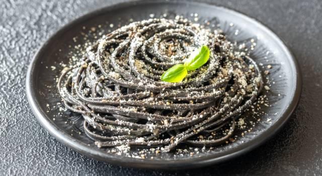 Ecco la ricetta degli spaghetti al nero di seppia