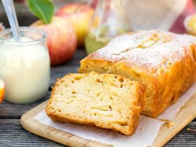 Torta di mele e yogurt: un sogno senza burro e olio