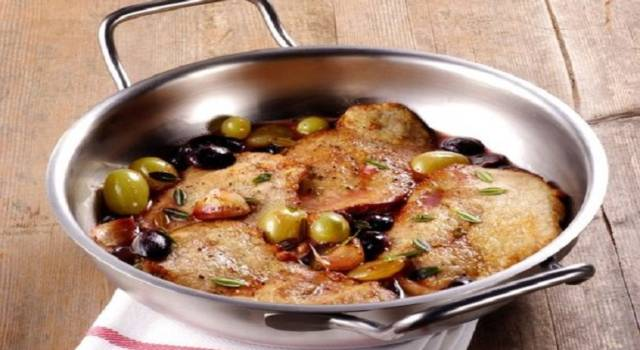 Scaloppine all'uva