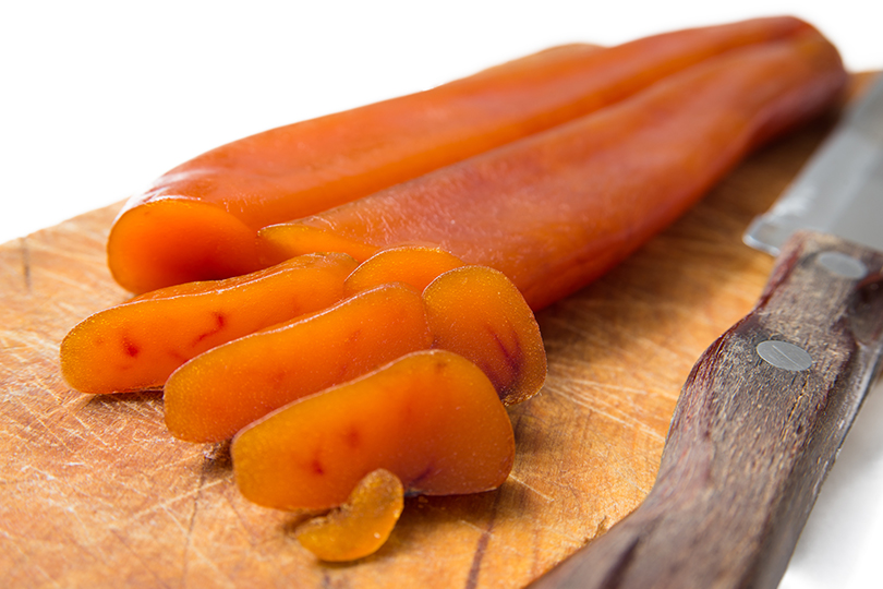 Bottarga in casa