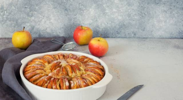 Torta con mele alla svizzera vi cambierà la giornata!