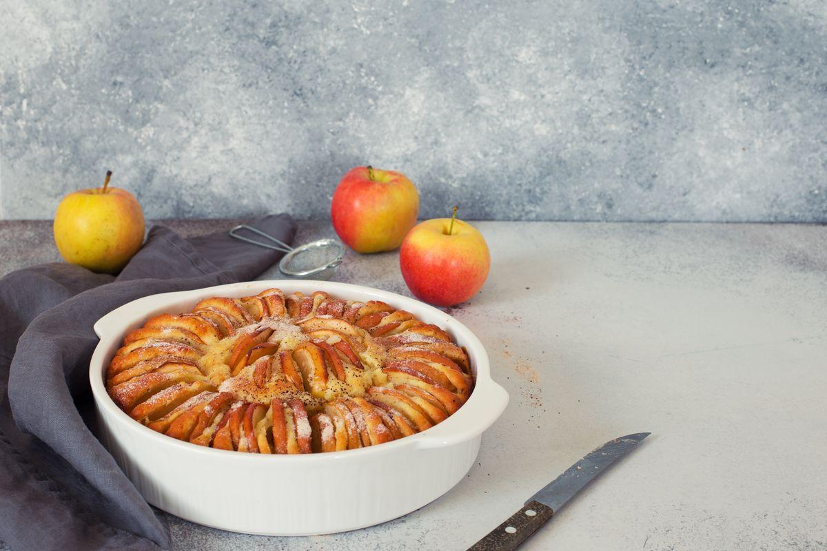 torta di mele alla svizzera