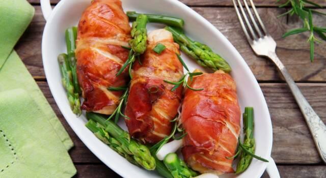 Ricetta salva tempo: Involtini di pollo con prosciutto crudo e ricotta