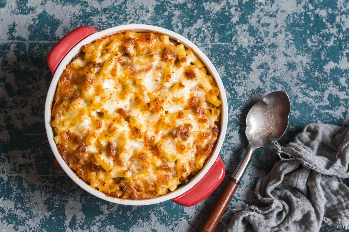 Pasta al forno con gorgonzola