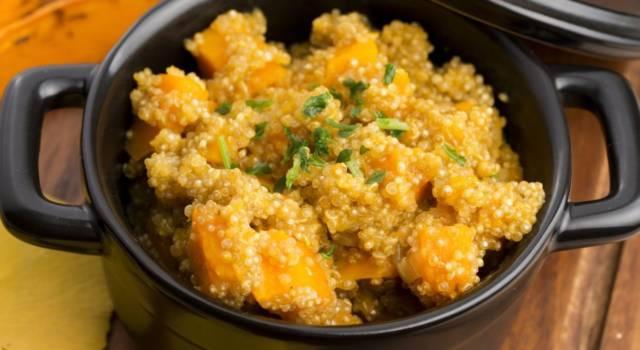 Quinoa con zucca e patate: buona, leggera e 100% VEG!
