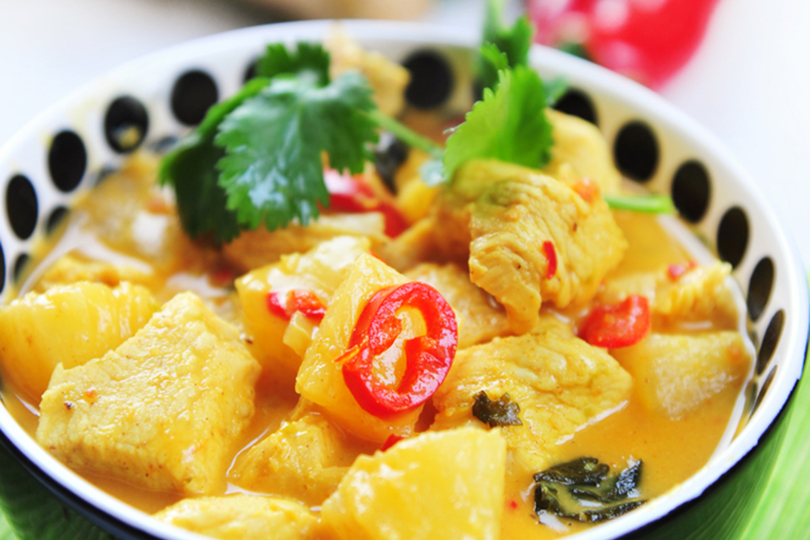 curry di ananas