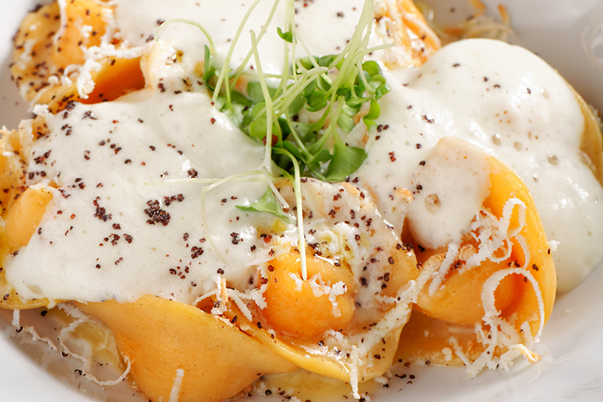ricetta dei tortelloni alla crema di parmigiano
