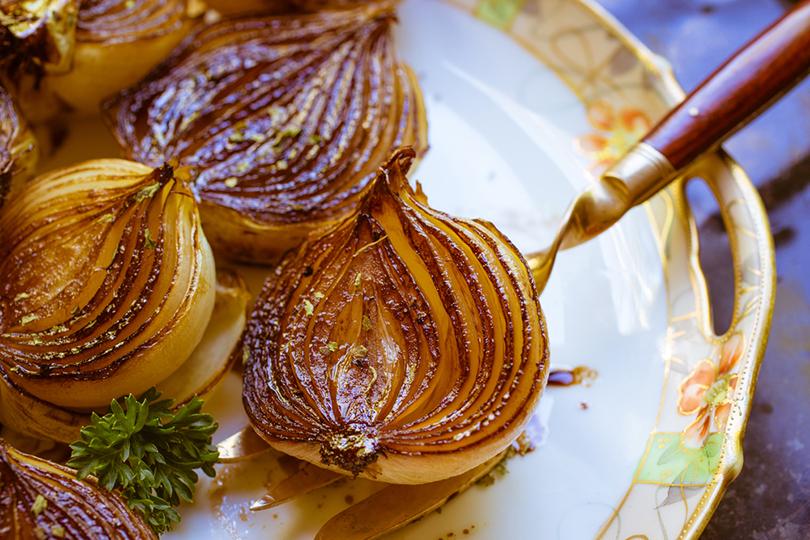 Cipolle glassate con aceto balsamico