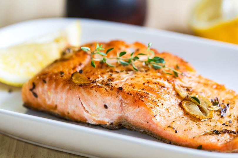 Filetto di salmone alla griglia