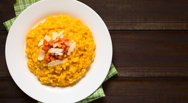 Ricetta salva spesa: risotto alle carote
