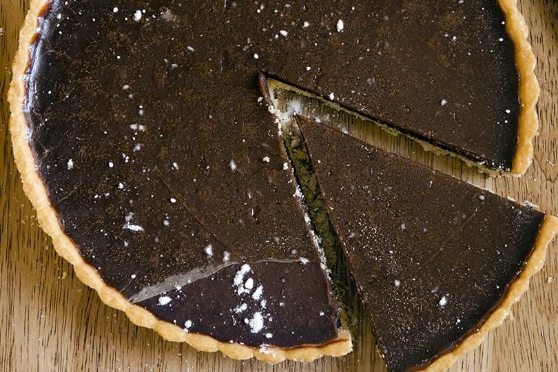 Torta cruda mascarpone e cioccolato