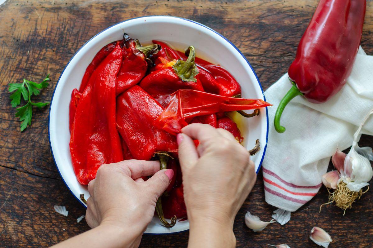 pelare i peperoni