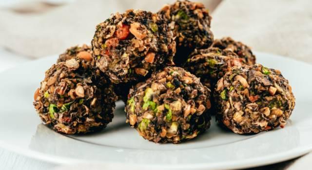 Polpette di quinoa e basilico: buone e facili a fare
