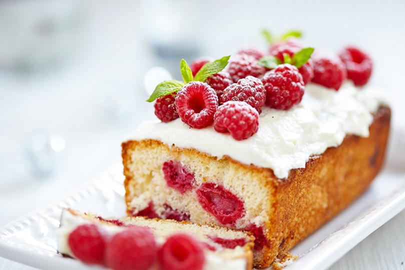 Golosissima torta di lamponi