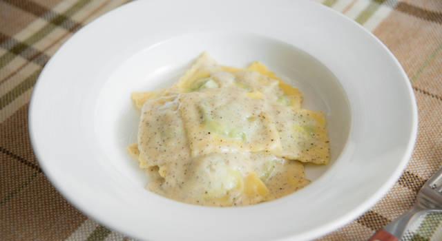 Ravioli alla crema di formaggi