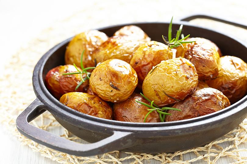 Le buonissime patate novelle al rosmarino