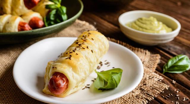 Ricetta salva spesa: wurstel in crosta