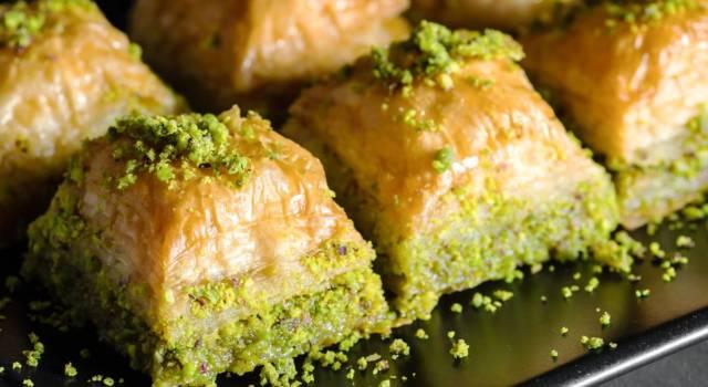 La ricetta del baklava, un dolce sontuoso e di una bontà incredibile