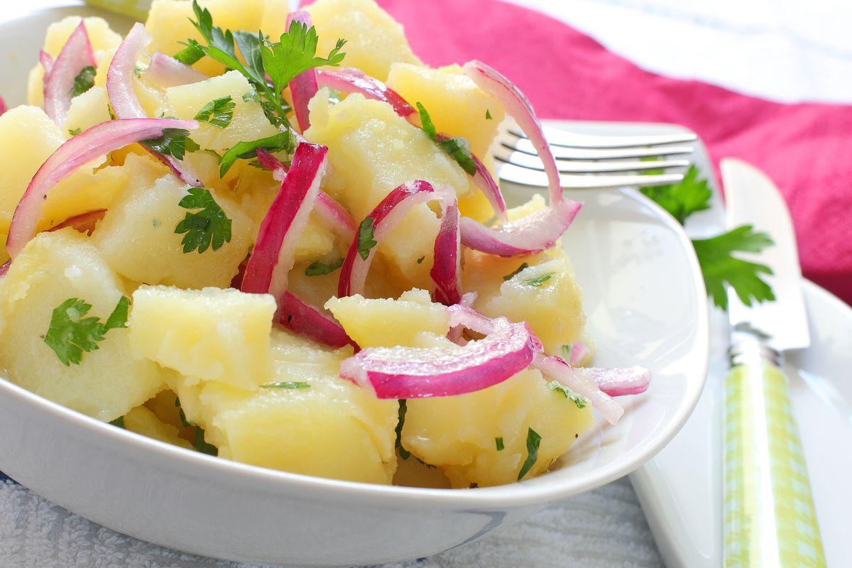 Insalata di cipolle e patate