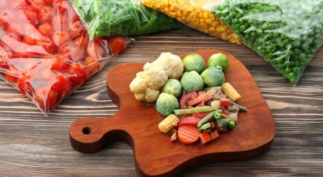 Come scongelare le verdure senza rovinarle? Ecco il segreto della nonna