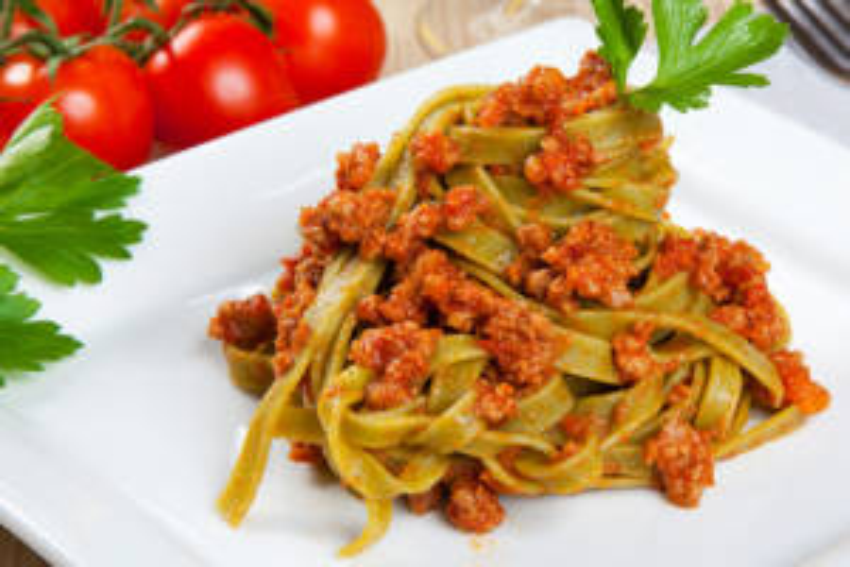 tagliatelle per ricette con lenticchie