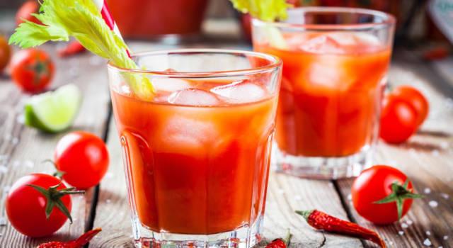 Come fare il Bloody Mary, il cocktail a base di succo di pomodoro