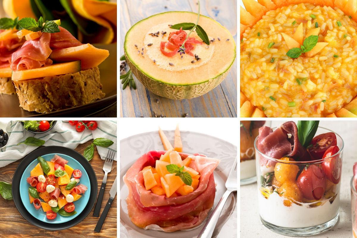 Idee per servire prosciutto e melone