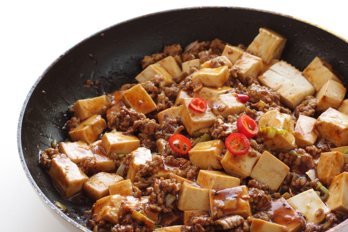 Lenticchie e tofu