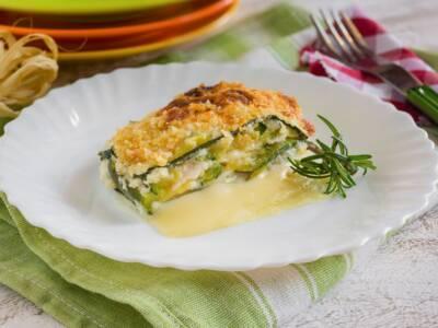 Parmigiana di zucchine e patate, un piatto unico gustoso e saporito