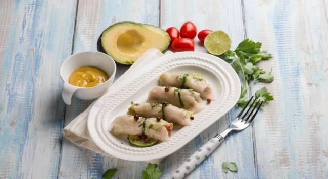 Involtini di pesce spada affumicato, un antipasto sfizioso e semplice da preparare